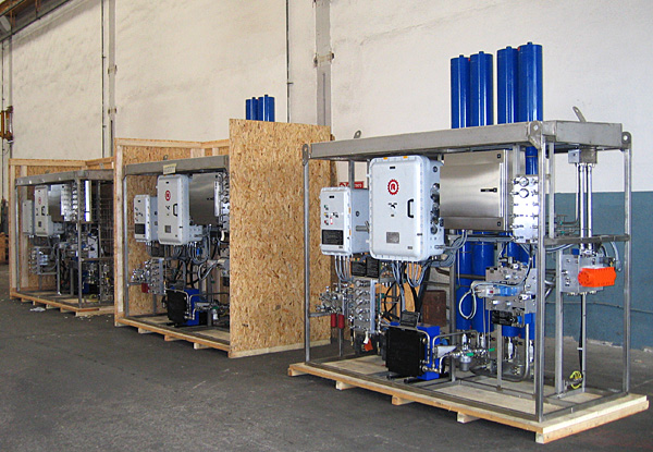 Hydraulic power control units - packing