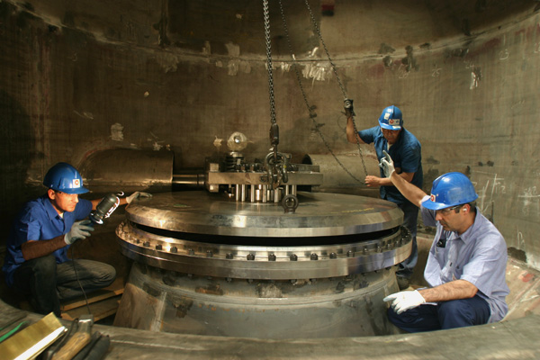 Isolation valve assembling