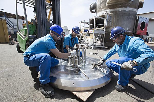 Isolation valve assembling