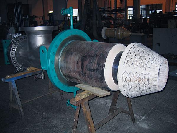 Plug valve, hollow type