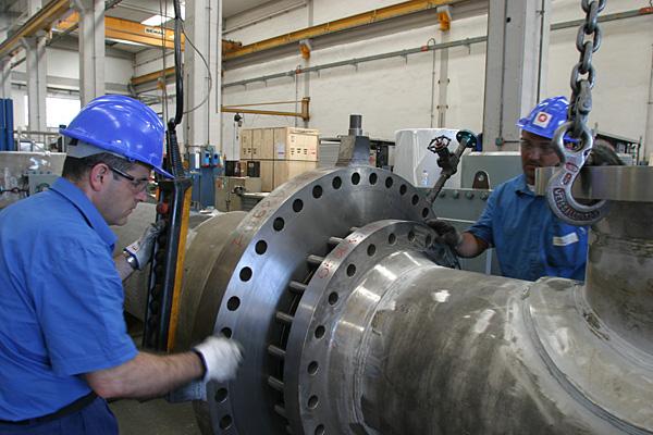 Plug valve assembling