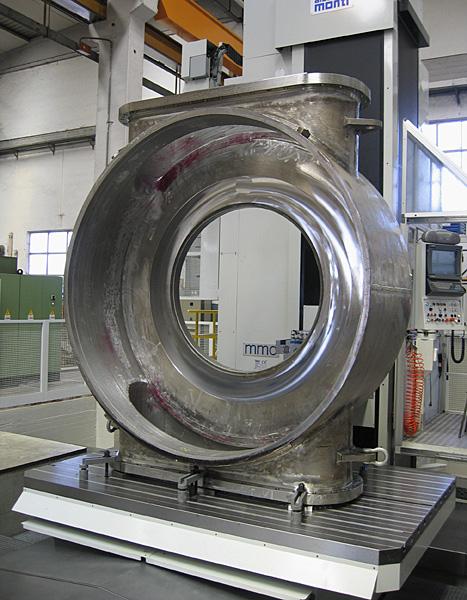 Slide valve, body machining