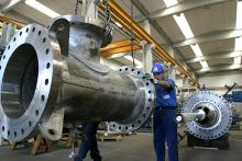 Plug valve: T-section assembling