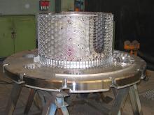 Variable orifice valve ready to be lined